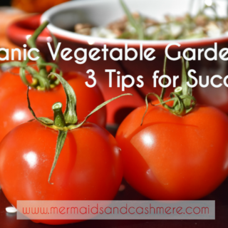 Organic Gardening ~ 3 Tips For Success