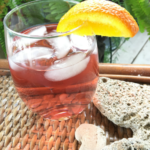 Cocktails – Pink Dusk ~ With Whipped Cream Vodka and Cranberry